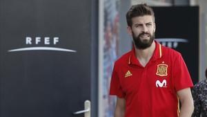 Gerard Piqué ha vivido una jornada tranquila en Alicante