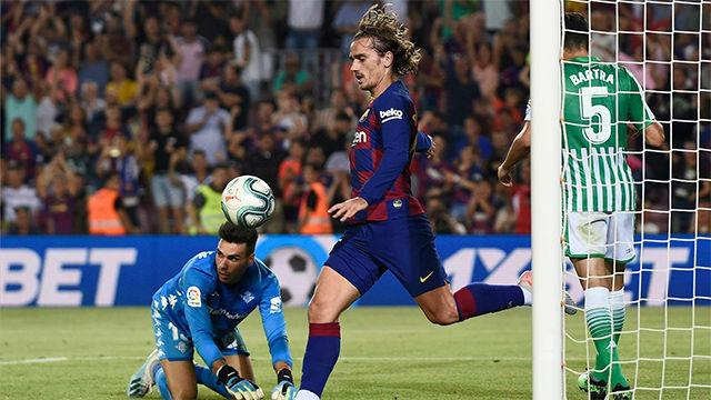 ¡Ya grita un gol de Griezmann el Camp Nou! Así narró la radio el primer gol del francés con la elástica azulgrana