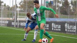 Ignasi Vilarrasa, ante el Espanyol B