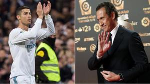 Jorge Valdano habló del ego de Cristiano Ronaldo