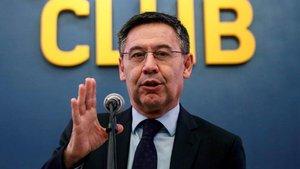 Josep Maria Bartomeu ha debido emprender un ERTE en el FC Barcelona