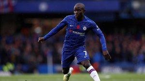 Kanté ha vuelto a ejercitarse en las instalaciones del Chelsea
