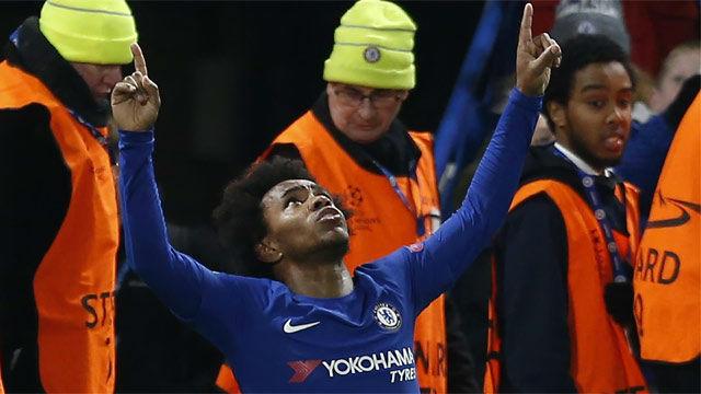LACHAMPIONS | Chelsea - FC Barcelona (1-1): El gol de Willian