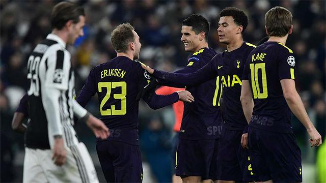 LACHAMPIONS | Juventus - Tottenham (2-2): Eriksen emuló a Ronaldinho al marcar de falta rasa ante la Juventus