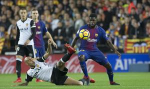 Las imágenes del Valencia, 1 - FC Barcelona, 1