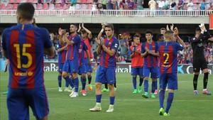 Los blaugrana sufrieron ante el Cartagena para lograr la clasificación