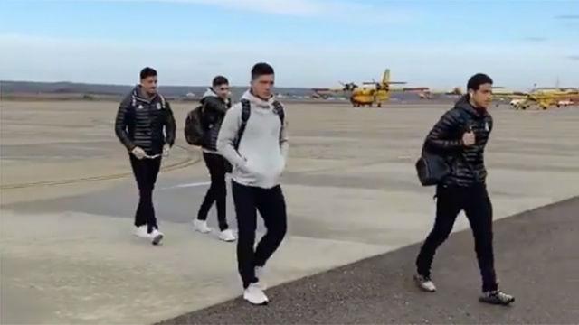 El Madrid ya está en Salamanca