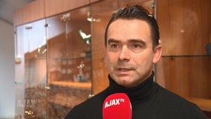 Marc Overmars, director de fútbol del Ajax Ámsterdam