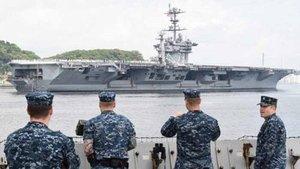 La marina estadounidense quiere tener 500 barcos