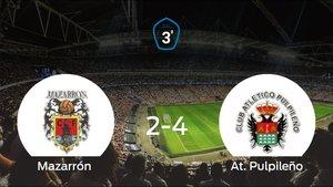 El Mazarrón pierde 2-4 frente al At. Pulpileño