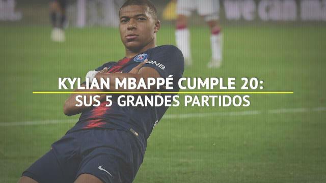 Mbappé cumple 20 años: estos son sus mejores 5 partidos