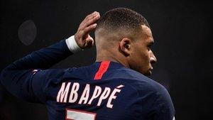 Mbappé respondió a las críticas de los ultras.
