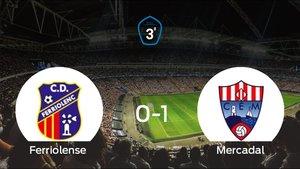 El Mercadal venció en el estadio del Ferriolense