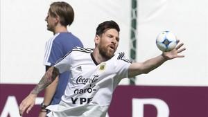 Messi, angustia con Argentina