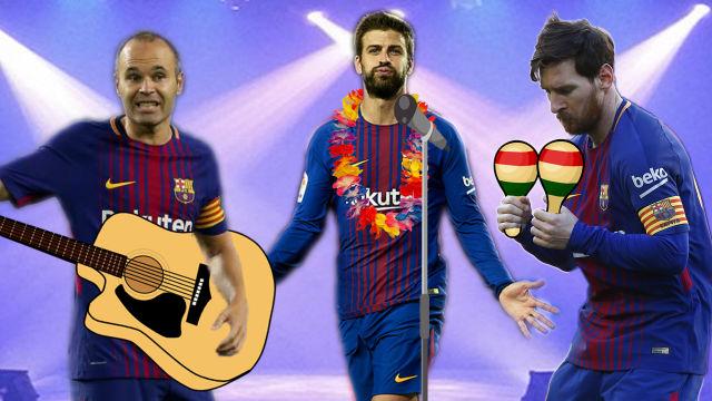 Messi y el Barça bailan en LaLiga