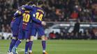 Dembélé gana confianza y Messi le bendice