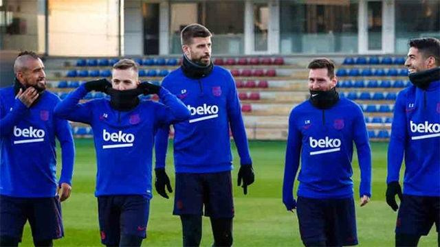 Messi, Suárez y Arturo Vidal se incorporan a los entrenamientos