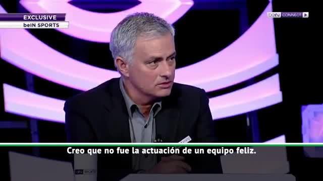 Mourinho, sobre el Madrid: No fue una actuación de equipo feliz