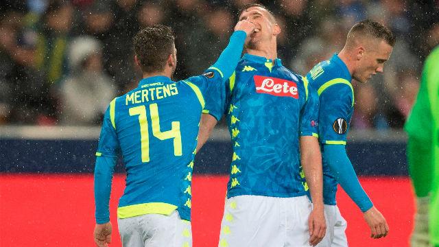 El Nápoles consigue un sufrido pase a cuartos