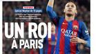 Neymar, un Rey en París