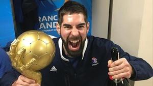 Nikola Karabatic conquistó en París su noveno oro internacional