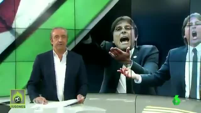 Pedrerol estalla contra Antonio Conte
