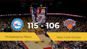 Philadelphia 76ers logra la victoria frente a New York Knicks por 115-106