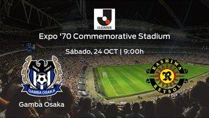 Previa del encuentro: el Gamba Osaka recibe al Kashiwa Reysol en la vigésimo cuarta jornada