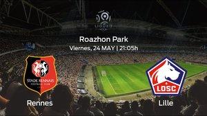 Previa del encuentro: el Lille viaja al estadio del Rennes para acabar el campeonato