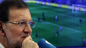 Rajoy, futbolero y madridista confeso