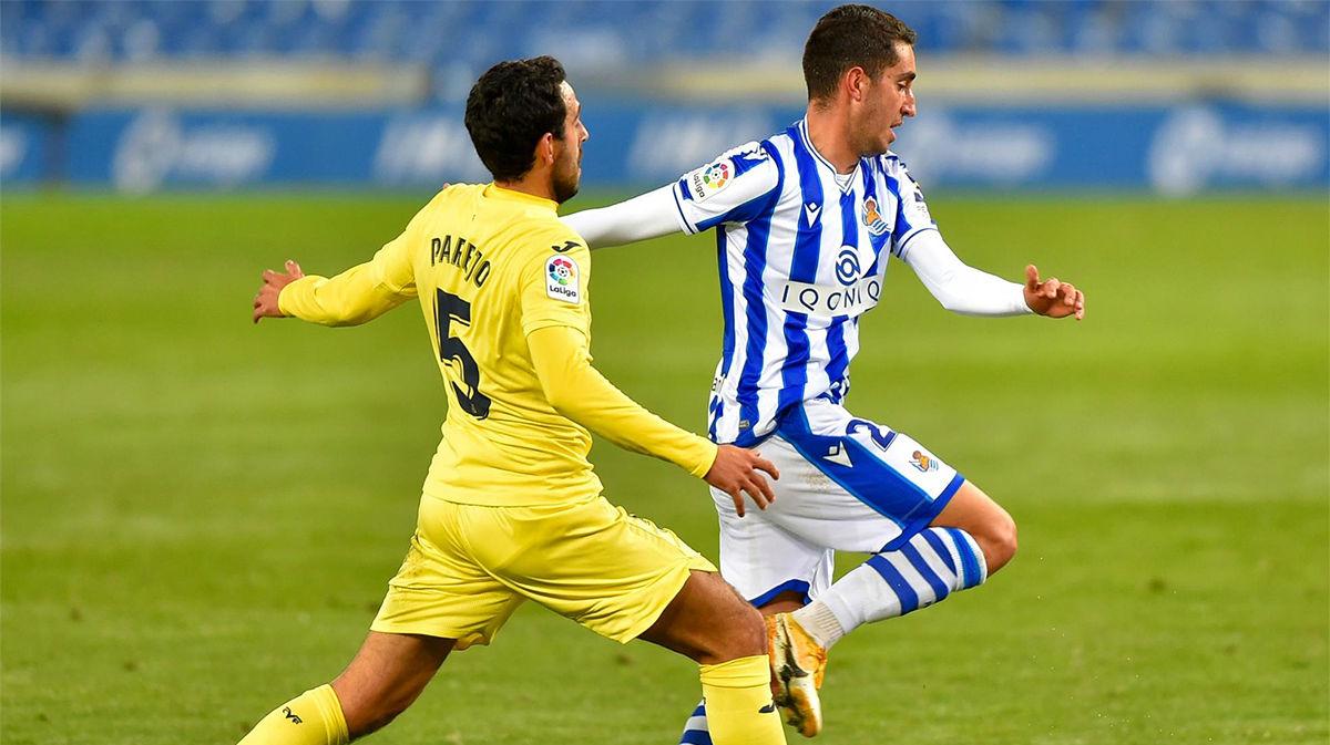 El resumen del empate entre la Real Sociedad y el Villarreal