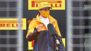 Sainz durante el GP de Estiria celebrado en Austria