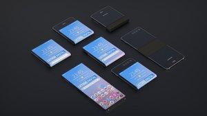 Samsung prepara un nuevo teléfono plegable