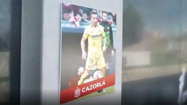 La Selección ha dado a conocer los nombres de los convocados a través de este vídeo