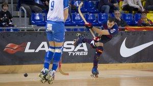 Sergi Panadero abrió el marcador con un gol de estrategia