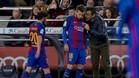 Ni Sergi Roberto ni Jordi Alba jugarán de inicio ante el PSG