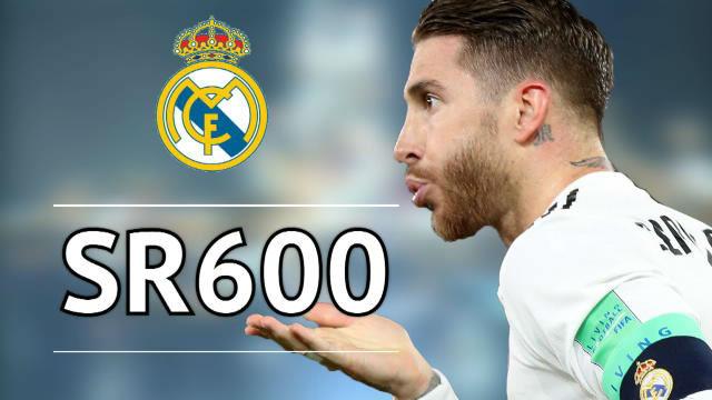 El Sergio Ramos más goleador ingresa en el club de los 600