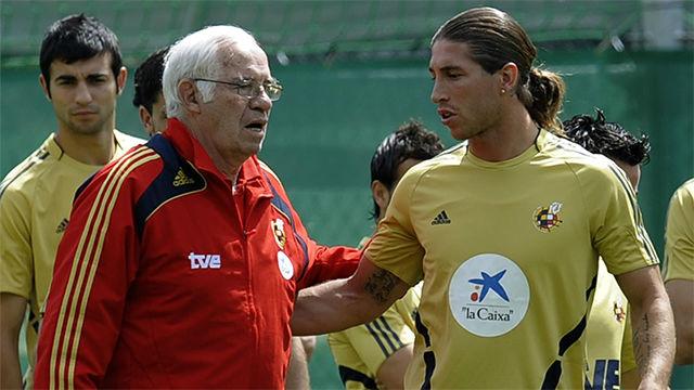 Sergio Ramos: El que más me marcó fue Luis Aragonés