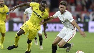 El Sevilla cayó ante el Villarreal en su último partido de liga