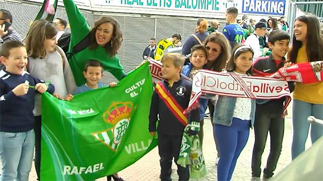 Sevilla también se vuelca con el derbi femenino