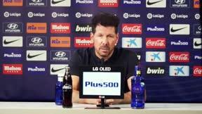 Simeone: No variaremos mucho de lo que somos; un equipo fuerte y defensivo
