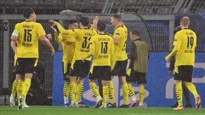 Sufrida pero necesaria victoria del Dortmund