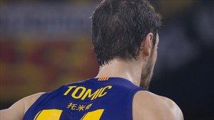 Tomic, MVP en el partido ante Zalgiris
