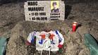 La 'tumba' de Márquez en Mugello