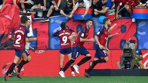 Una victoria acercaría al Osasuna a los puestos de competiciones europeas