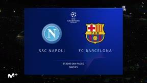 Vea el resumen del empate en San Paolo entre Nápoles y el Barça