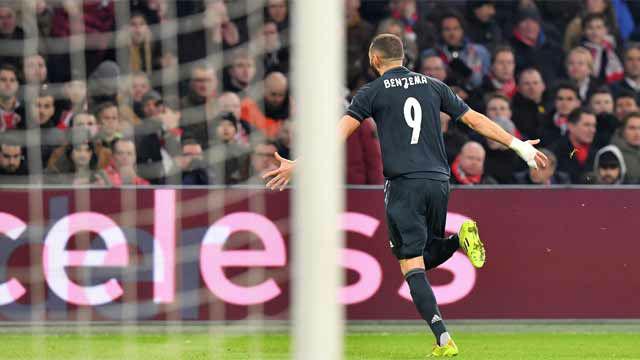 Vinicius se fue de tres rivales y regaló el gol a Benzema