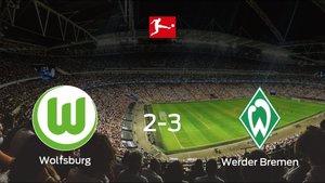 El Werder Bremen gana al VfL Wolfsburg en el Volkswagen Arena (2-3)