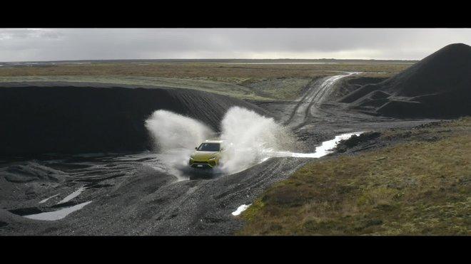 Lamborgini Urus en Islandia