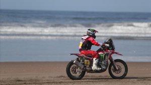 Óscar Fuertes ha pasado varios problemas en lo que va el Dakar
